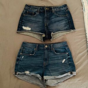 2 Pairs women's shorts size 10